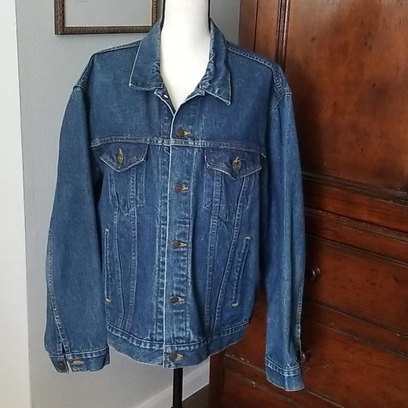 Levi's mens denim trucker jacket